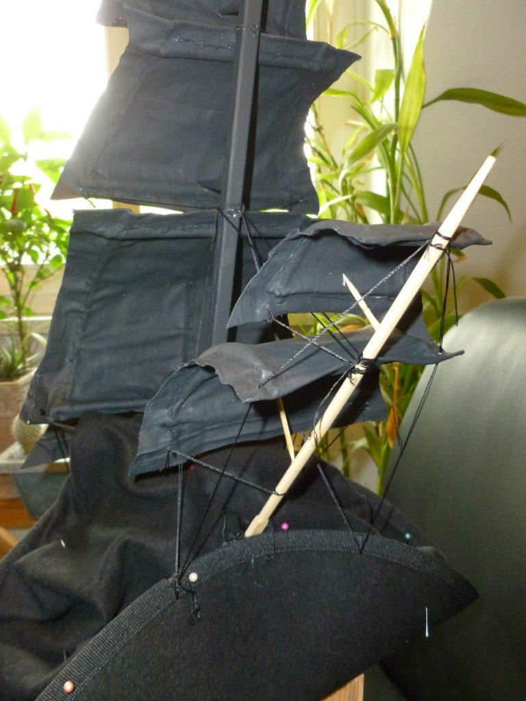 Segel werden angebracht | Faunauge