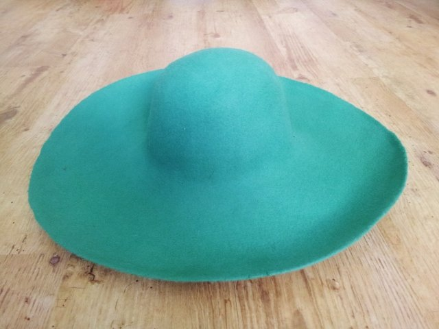 Noch habe ich keine Hand an diesen Hut gelegt