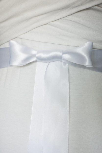 Brautgürtel von Faunauge mit Schleife als Verschluss