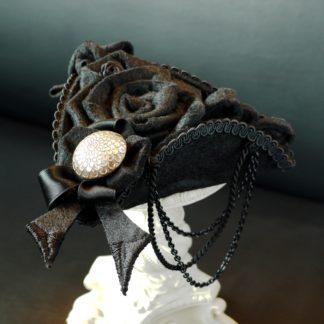 Kleines Hütchen Gothic Lolita