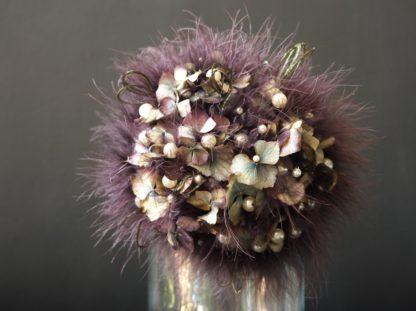 Brautstrauß getrockneter Hydrangea