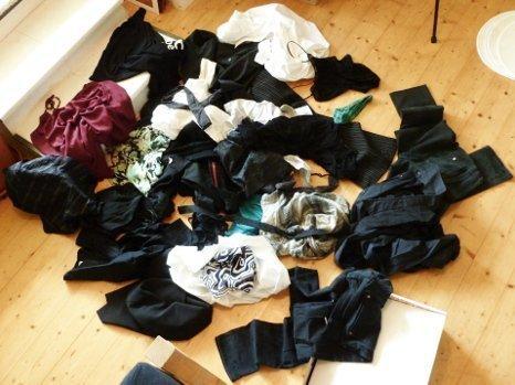 Geister aus dem Kleiderschrank