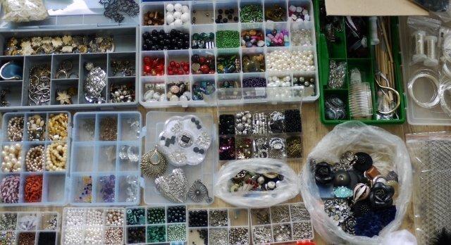 Perlen über Perlen