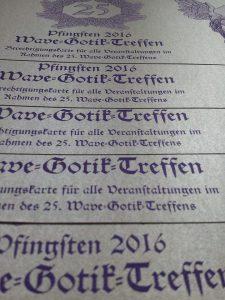 Ticket für das WGT 2016