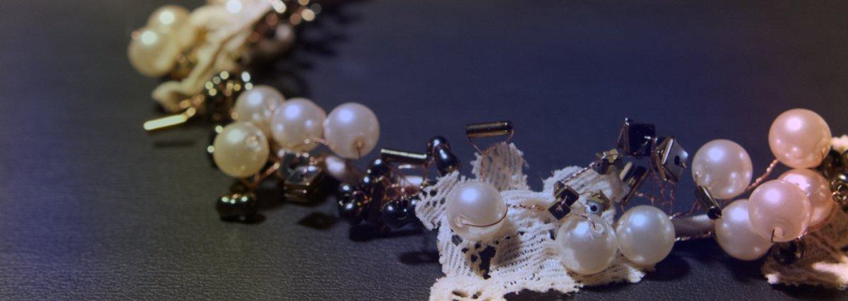 Haarbänder und Blumenkränze von Faunauge