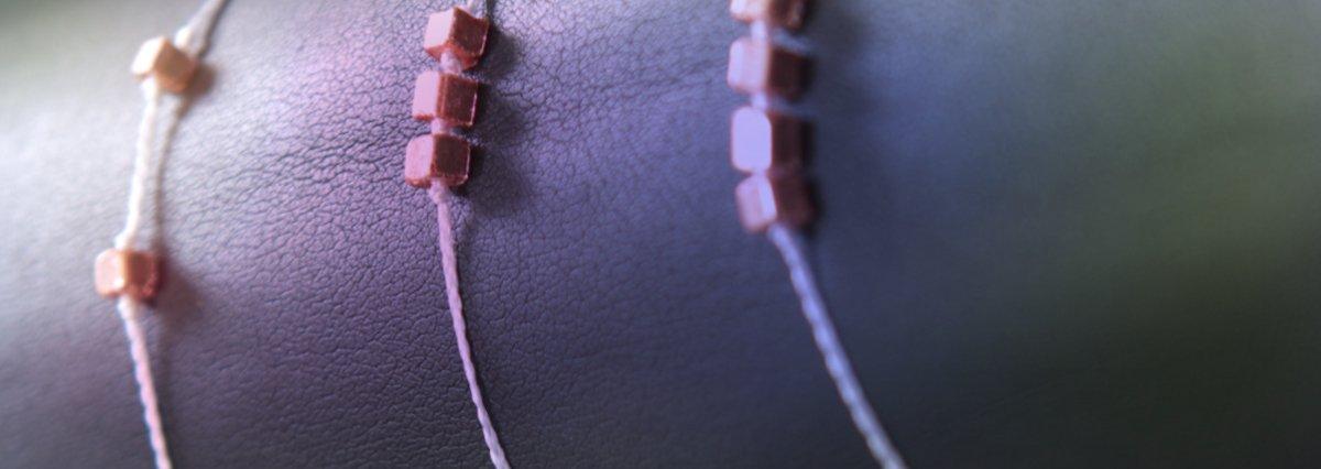 Kleine Ohrringe, Armbänder und Broschen von Faunauge