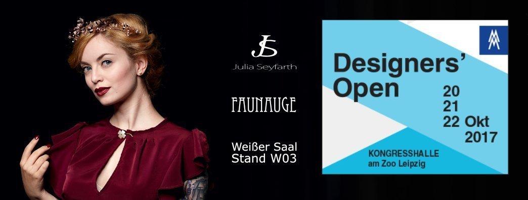 Faunauge nimmt zusammen mit Julia Seyfarth Modedesing an den Designers' Open teil!