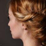 Haarband Flieder