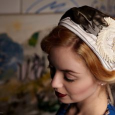 Vintage Fascinator Chapeau <em>Elsbeth</em>