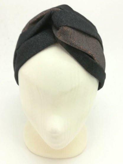Haarband Kupfer Glitter