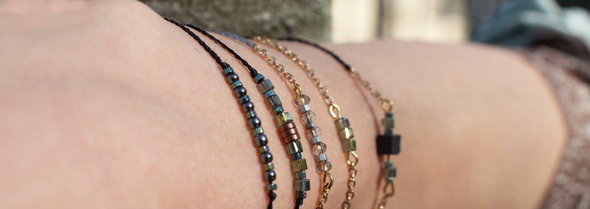 Faunauges Schmuck - Armbänder und Ohrringe im Layer Look und Statement Look