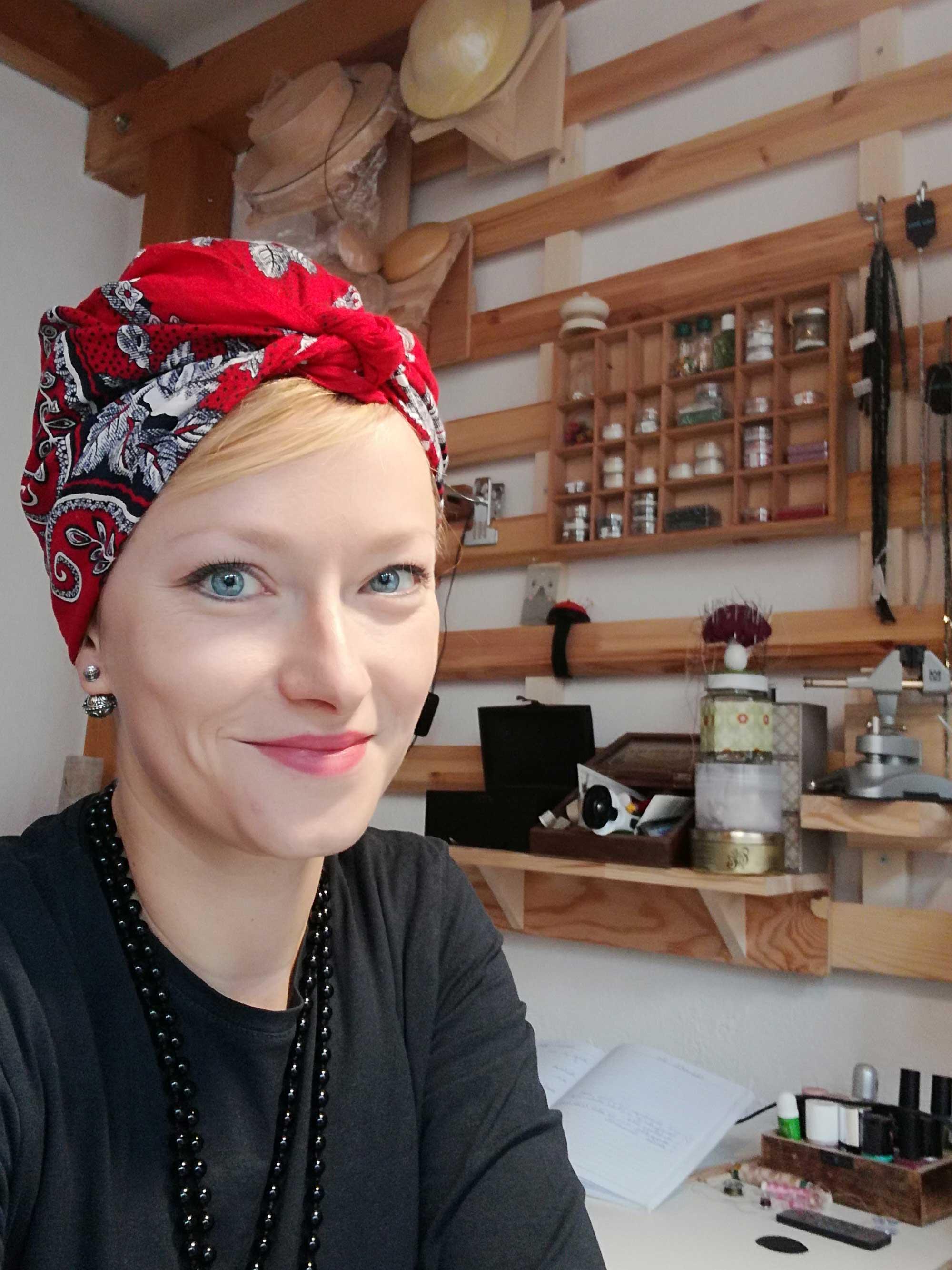 Portrait Faunauge Studio Werkstatt einkaufen