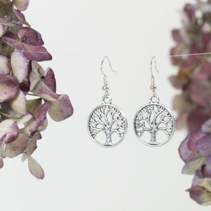 Ohrringe Lebensbaum Silber