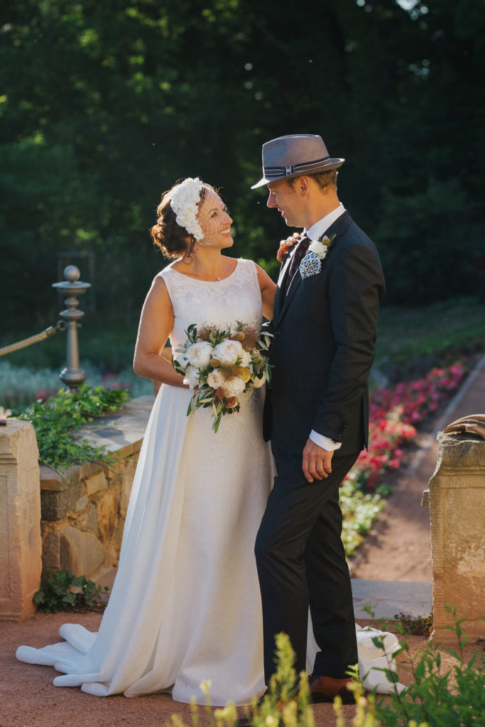 Brautpaar im Rittergut Kössern