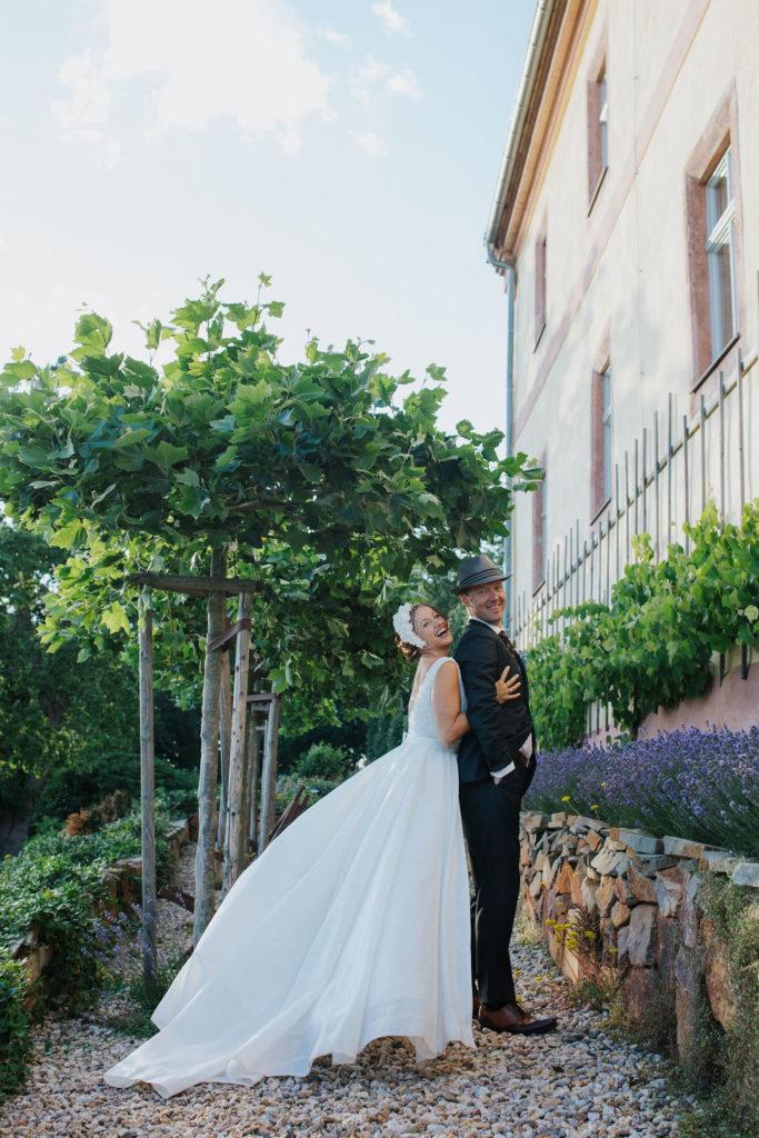 Hochzeit am Lavendelfeld