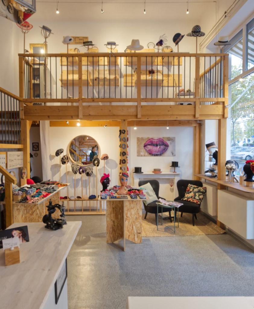 Blick in den Laden Faunauge